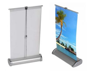 Desktop Banner Stand