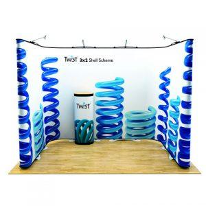Twist Display Stand 2
