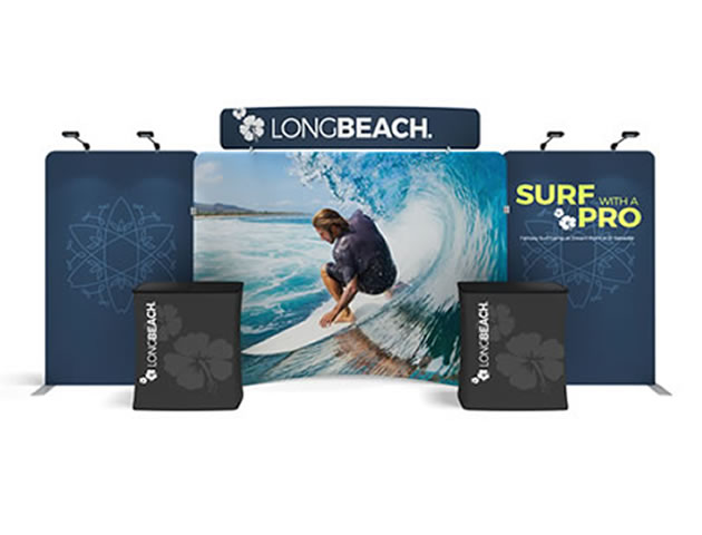 Stretch Fabric Portable Displays