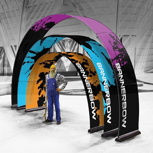 Bannerbow Event Arch